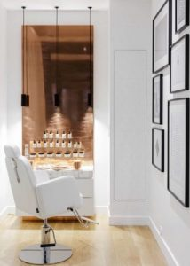 Turned Chair in Beatuy Salon